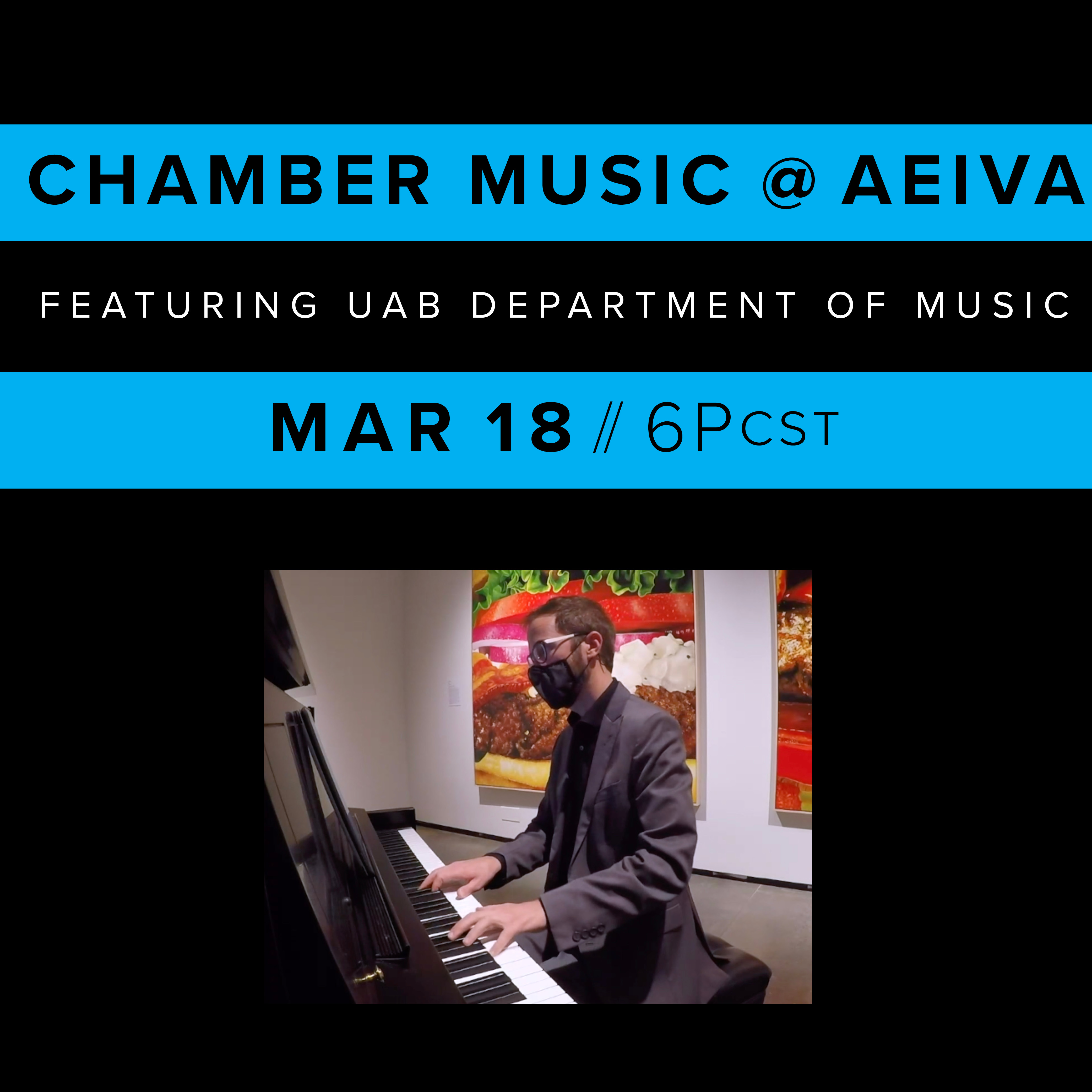 AEIVA and Department of Music Present Chamber Music @ AEIVA